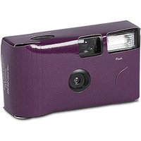 Purple Disposable Camera Solid Colour Design