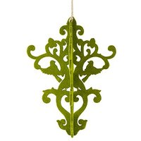 Decorative Artificial Moss Chandelier - Large - Classical Green