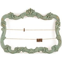 Open Ornate Vintage Inspired Frame in Aged Green - Daiquiri Green