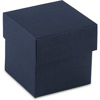 Navy Blue Favour Box with Lid