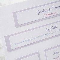 Elegant Border Table Planners For Weddings Kit A3 - Sage Green
