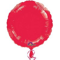 Red Round Foil Balloon Pack