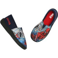 Marvel Spiderman boys soft character print durable sole stretch slip on design slippers  - Multicolo