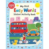 First Skills: My First Easy Words Sticker Activity Book