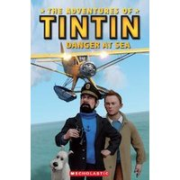 Popcorn ELT Primary Readers Level 2: The Adventures of Tintin: Danger at Sea (Book and CD)