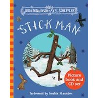 Stick Man: Book and CD