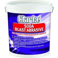 Clarke Clarke Coarse Grain Soda Blast Abrasive (7.5kg)