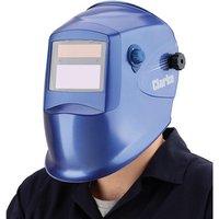 Clarke Clarke GWH3 Blue Grinding/Arc Activated Solar Powered Welding Headshield