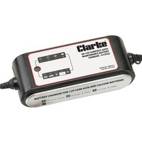 New Clarke CB09-12 8A Auto Battery Charger/Maintainer 9 Stage