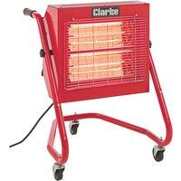 Clarke Clarke Devil 370SP Quartz Halogen Infra-red Heater with Swivel Head (230V)