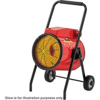 400 Volt, 3 Phase Clarke Devil 7015 15kW Industrial Electric Fan Heater