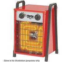 Price Cuts Clarke Devil 6003 Industrial Electric Fan Heater