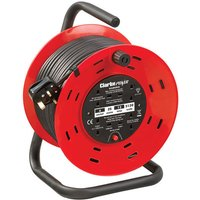 Clarke Clarke CCR25 4 Socket 25m Cable Reel With Thermal Cut Out (230V)