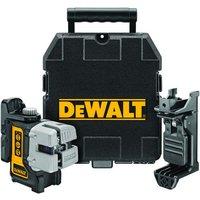 DeWalt DeWalt DW089KD-XJ 3 Way Self Levelling Cross Line Laser & DE0892 Detector