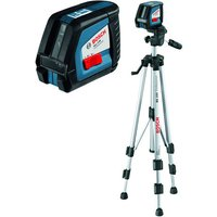 Machine Mart Xtra Bosch GLL 2-50 Professional Line Laser & BS 150 Building Tripod