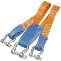 Lifting & Crane Lifting and Crane Webbing Towing Bridle with Shackles