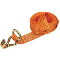 Lifting & Crane 4m Strap with Oval Link & Claw Hook
