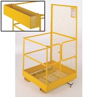 Barton Storage Barton Fork Lift Safety Cage with Tool Box