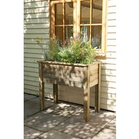 New Forest 87x100x50cm Bamburgh Planter Table