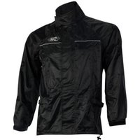 Machine Mart Xtra Oxford Rain Seal Black All Weather Over Jacket (S)