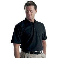 Dickies Dickies Short Sleeved Polo Shirt Black - XXXL