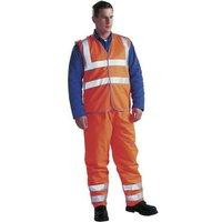 Dickies Hi Vis Orange Safety Waistcoat - XL