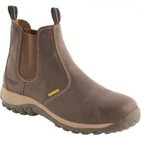 DeWalt DeWalt Radial Safety Dealer Boot Brown Size 10