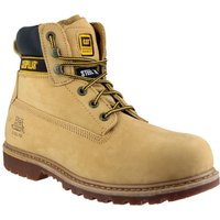 Cat Cat Holton Safety Boot In Honey (Size 12)