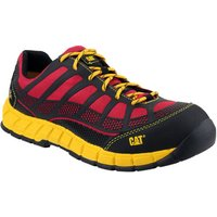 Cat Cat Streamline Safety Trainer In Red (Size 9)