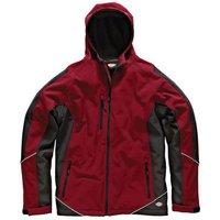 Dickies Dickies JW7010 Two Tone Softshell Jacket (Red/Black) - 3XL