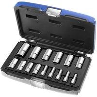 Machine Mart Xtra Britool Expert 15 Piece 3/8 Deep Socket Set 7-22mm