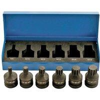 Laser Laser 4939 6 piece Spline Bit Set 1/2 drive Impact Quality