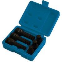 Machine Mart Xtra Laser 5019 1/2 drive Impact Spline Socket Bit Set 6pc