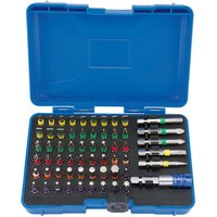 Draper Draper CMBH60 Expert Coloured 60 Piece Screwdriver Bit Set with Magnetic Holder