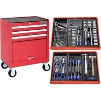 Machine Mart Xtra Britool E220319B Tool Kit 123 Piece & Tool Cabinet