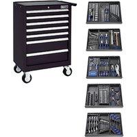 Machine Mart Xtra Britool E220329B 285 Piece Tool Kit & Tool Chest - Black