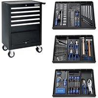 Machine Mart Xtra Britool E220320B 207 Piece Tool Kit & Tool Chest - Black