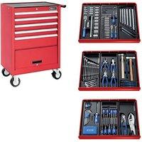 Machine Mart Xtra Britool E220321B 207 Piece Tool Kit & Tool Chest - Red