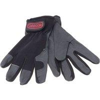 Machine Mart Xtra Oregon Stretch Leather Work Gloves (Large)