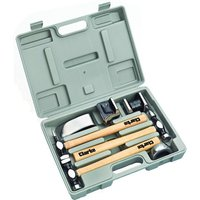 Clarke Clarke CPB7CH 7pc Panel Beating Set With Hickory Shafts