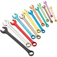 New Clarke PRO337 13 Piece Colour Coded Metric Combination Spanner Set