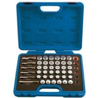 Machine Mart Xtra Laser 5124 - 114 Piece Oil Drain Plug Repair Kit