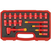 Laser Laser 6145 18 Piece Insulated Socket Set 1/4 Drive