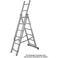 Machine Mart Xtra Lyte CL8 8 Tread Aluminium Combination Ladder