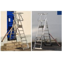 Machine Mart Xtra Zarges 4-6 Tread Sherpascopic Work Platform