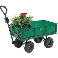 Clarke Clarke GT3 Towable Garden Trolley With Removable Liner