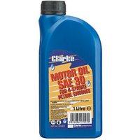 Clarke Clarke SAE30 Motor Oil - 1 Litre