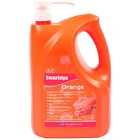 DEB Swarfega Orange Pump Bottle 4 Litre