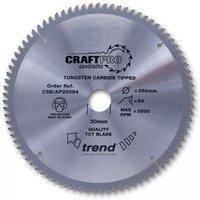 Trend Trend CSBAP21564 - 64T CraftPro Saw Blade 215mm
