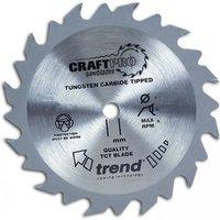 Trend Trend CSB19024 - 24T CraftPro Saw Blade 190mm